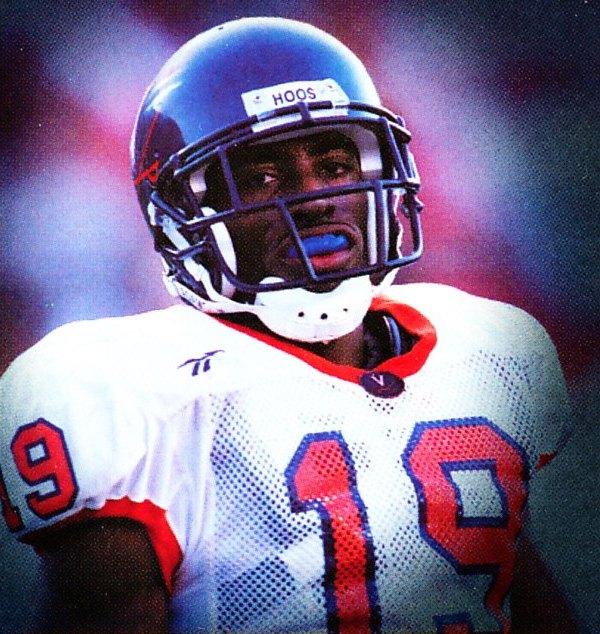Football Helmet Front View : Virginia cavaliers football uniform