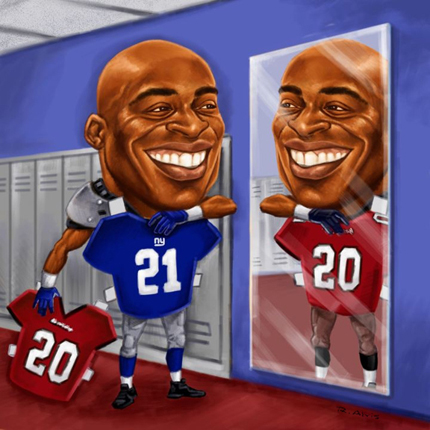 Barber Tiki : Posters & Artwork - Ronde Barber
